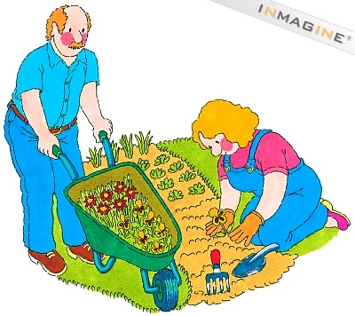 Garden Cartoon Clipart...: quoteko.com/garden-clipart.html